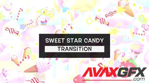 Sweet Star Candy Transition 28442220