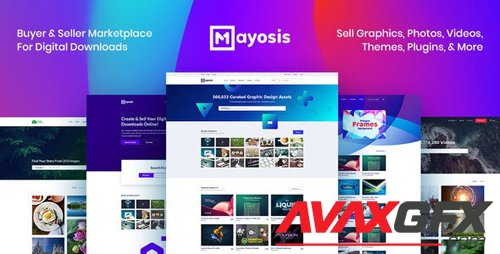 ThemeForest - Mayosis v2.8.3 - Digital Marketplace WordPress Theme - 20210200