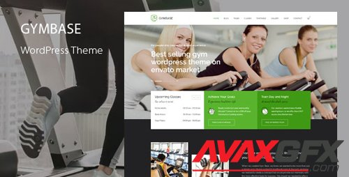 ThemeForest - GymBase v13.8 - Gym Fitness WordPress Theme - 2732248