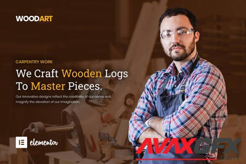 ThemeForest - WoodArt v1.0 - Artisan Template Kit (Update: 15 September 20) - 25862256