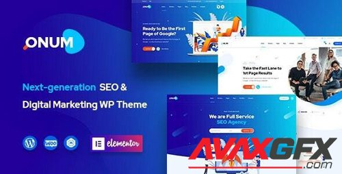 ThemeForest - Onum v1.1.9.3 - SEO & Marketing Elementor WordPress Theme - 25257938