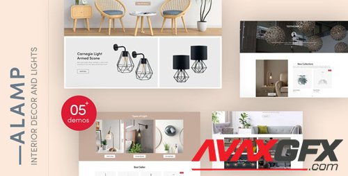ThemeForest - Alamp v1.0.0 - Interior Decor and Lights Responsive Shopify Theme - 27950889