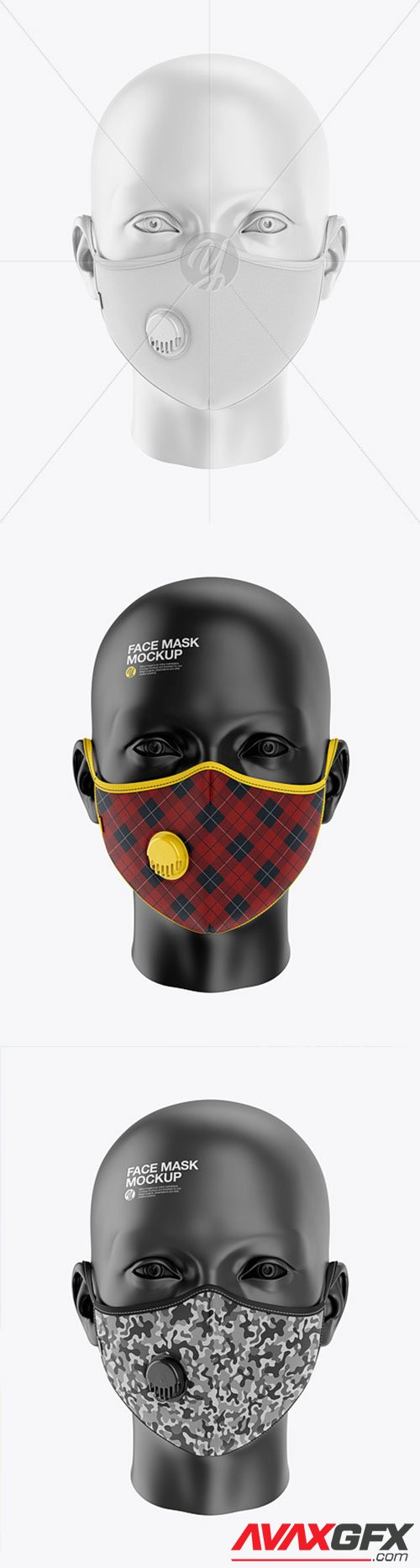 Anti-Pollution Face Mask with Exhalation Valve 62201