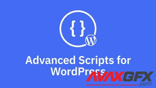 Advanced Scripts v1.1.0 - WordPress Plugin That Allow You To Create Custom Scripts And Styles