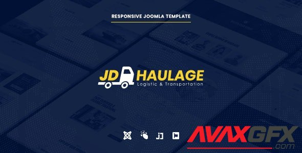 ThemeForest - JD Haulage v1.1 - Logistic & Transportation Services Joomla Template - 25691143