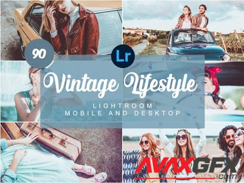 Vintage Lifestyle Mobile Presets