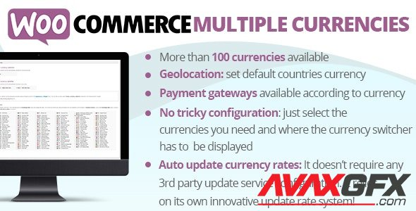 CodeCanyon - WooCommerce Multiple Currencies v5.1 - 23590806 - NULLED