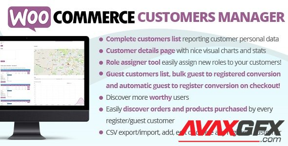 CodeCanyon - WooCommerce Customers Manager v26.2 - 10965432 - NULLED