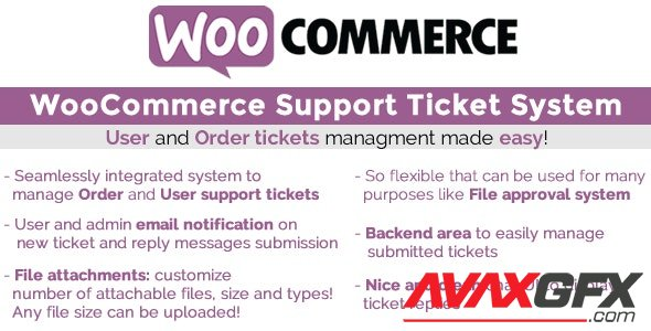 CodeCanyon - WooCommerce Support Ticket System v13.3 - 17930050 - NULLED
