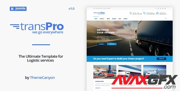 ThemeForest - TransPro v1.2 - Transport & Trucking Logistics Joomla Template (Update: 24 July 20) - 18420654