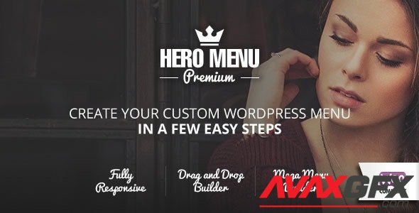 CodeCanyon - Hero Menu v1.15.2 - Responsive WordPress Mega Menu Plugin - 10324895