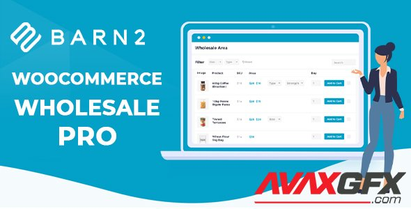 Barn2 - WooCommerce Wholesale Pro v1.4.4 - NULLED