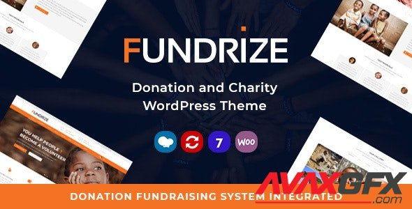 ThemeForest - Fundrize v1.16 - Responsive Donation & Charity WordPress Theme - 20971587