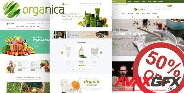 ThemeForest - Organica v1.5.6 - Organic, Beauty, Natural Cosmetics, Food, Farn and Eco WordPress Theme - 19055016