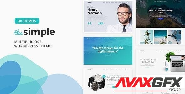 ThemeForest - The Simple v2.5.6 - Business WordPress Theme - 18406495