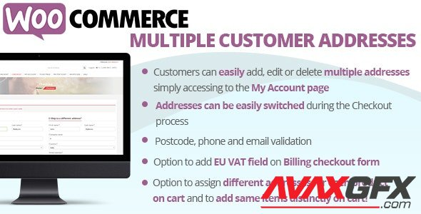 CodeCanyon - WooCommerce Multiple Customer Addresses v18.4 - 16127030 - NULLED