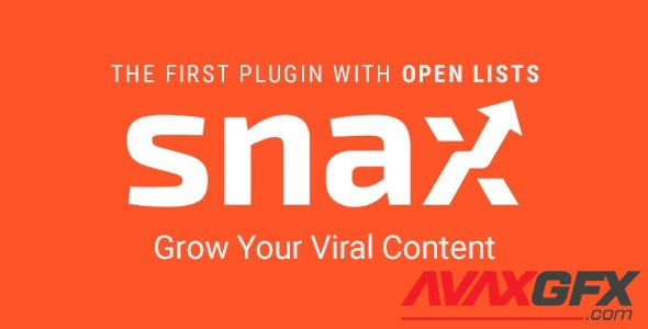 CodeCanyon - Snax v1.84 - Viral Content Builder - 16540363