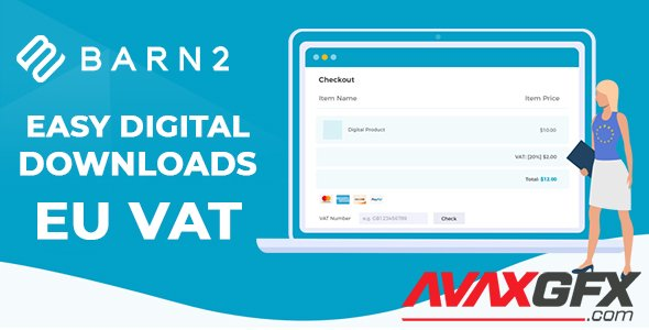 Barn2 - Easy Digital Downloads - EU VAT v1.3.3 - NULLED