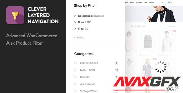 CodeCanyon - Clever Layered Navigation v1.4.0 - WooCommerce Ajax Product Filter - 21707934