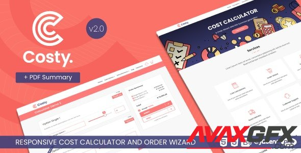 ThemeForest - Costy v2.1. - Cost Calculator and Order Wizard - 23497072