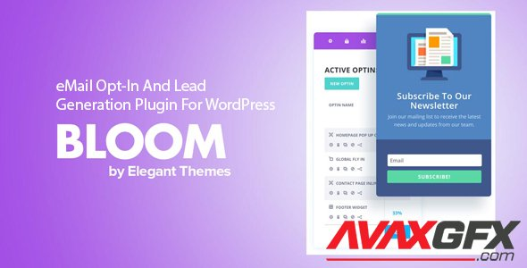 ElegantThemes - Bloom v1.3.11 - eMail Opt-In And Lead Generation Plugin For WordPress