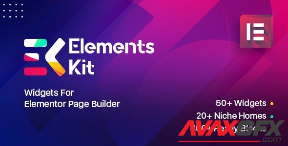 CodeCanyon - Elements Kit Widgets v2.2.0 - Addon for elementor page builder - 25104315 - NULLED