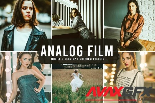 Analog Film Mobile & Desktop Lightroom Presets