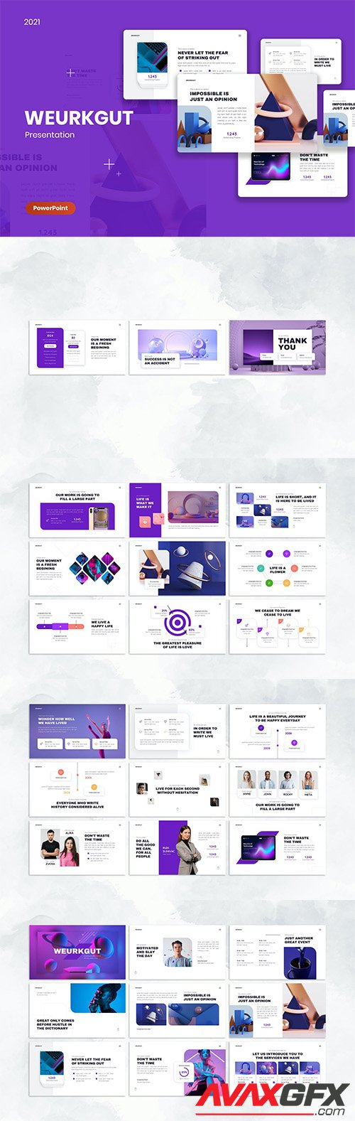 Weurkgut PowerPoint, Keynote and Google Slides Template