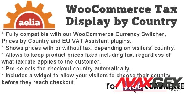 CodeCanyon - Tax Display by Country for WooCommerce v1.15.10.210406 - 8184759