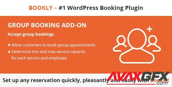 CodeCanyon - Bookly Group Booking (Add-on) v2.3 - 21344225