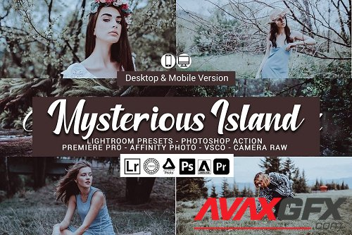 Mysterious Island Lightroom Presets - 5157416