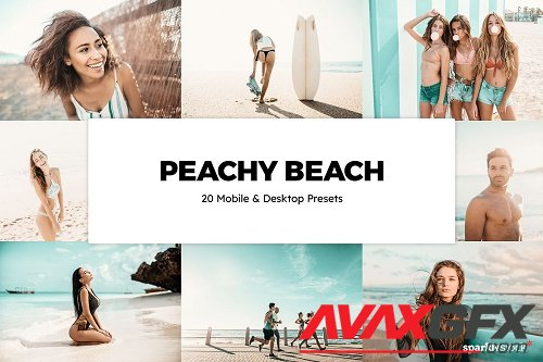 20 Peachy Beach Lightroom Presets - 6132129