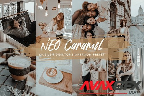 15 Mobile Lightroom Presets Neo Caramel - 1357746