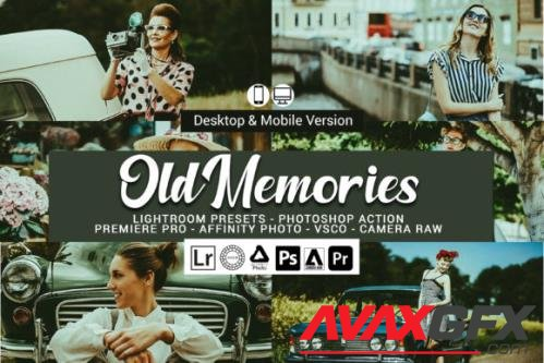 Old Memories Lightroom Presets and Photoshop Actions