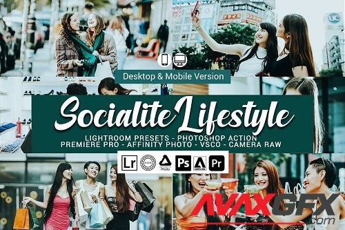 Socialite Lifestyle Lightroom Preset - 5157445
